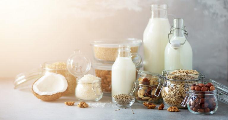 Vegan Substitute Dairy Milk
